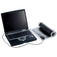 Solarroll Charging A Laptop