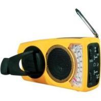 Freeplay Solar-Wind Up Weather Radio