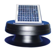 Power-Save-Solar Attic Fan