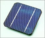 Basic Solar Cell-Photo courtesy of EERE